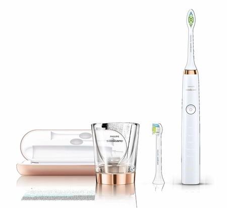 Oferta de día en el cepillo eléctrico Philips Sonicare Diamond Clean HX9312/04: hasta medianoche cuesta 109,99 euros en Amazon