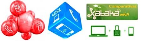 Comparativa tarifas para hablar y navegar que integran fijo, ADSL y telefonía móvil en una cuota única