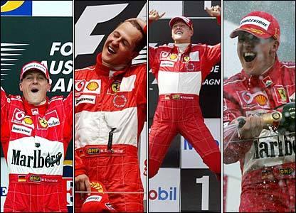 ¿El premio a Schumacher compensación por el de Alonso en 2005?