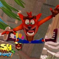Crash se aferra a la vida con un toque de estilo en el nuevo gameplay de Crash Bandicoot N. Sane Trilogy