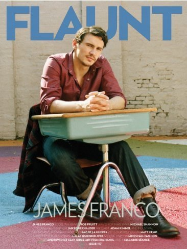 Ays, que nunca tuve yo un compañero de pupitre como James Franco