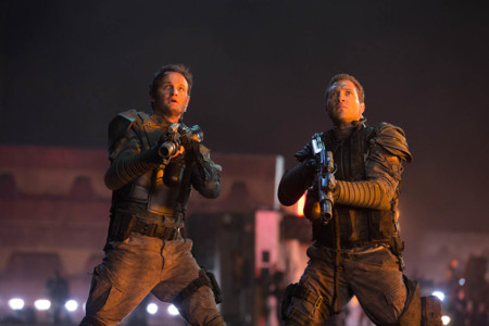Jason Clarke y Jai Courtney en