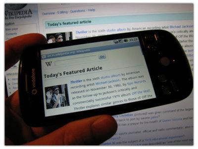 Wikipedia Mobile deja de ser Beta