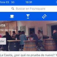 Apple añade a Mapas los datos de empresas en Foursquare