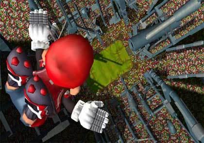 Mario Strikers Charged - Pantalla 01