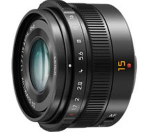 Leica DG 15 mm f/1.7: nuevo objetivo de Panasonic para cámaras Micro Cuatro Tercios