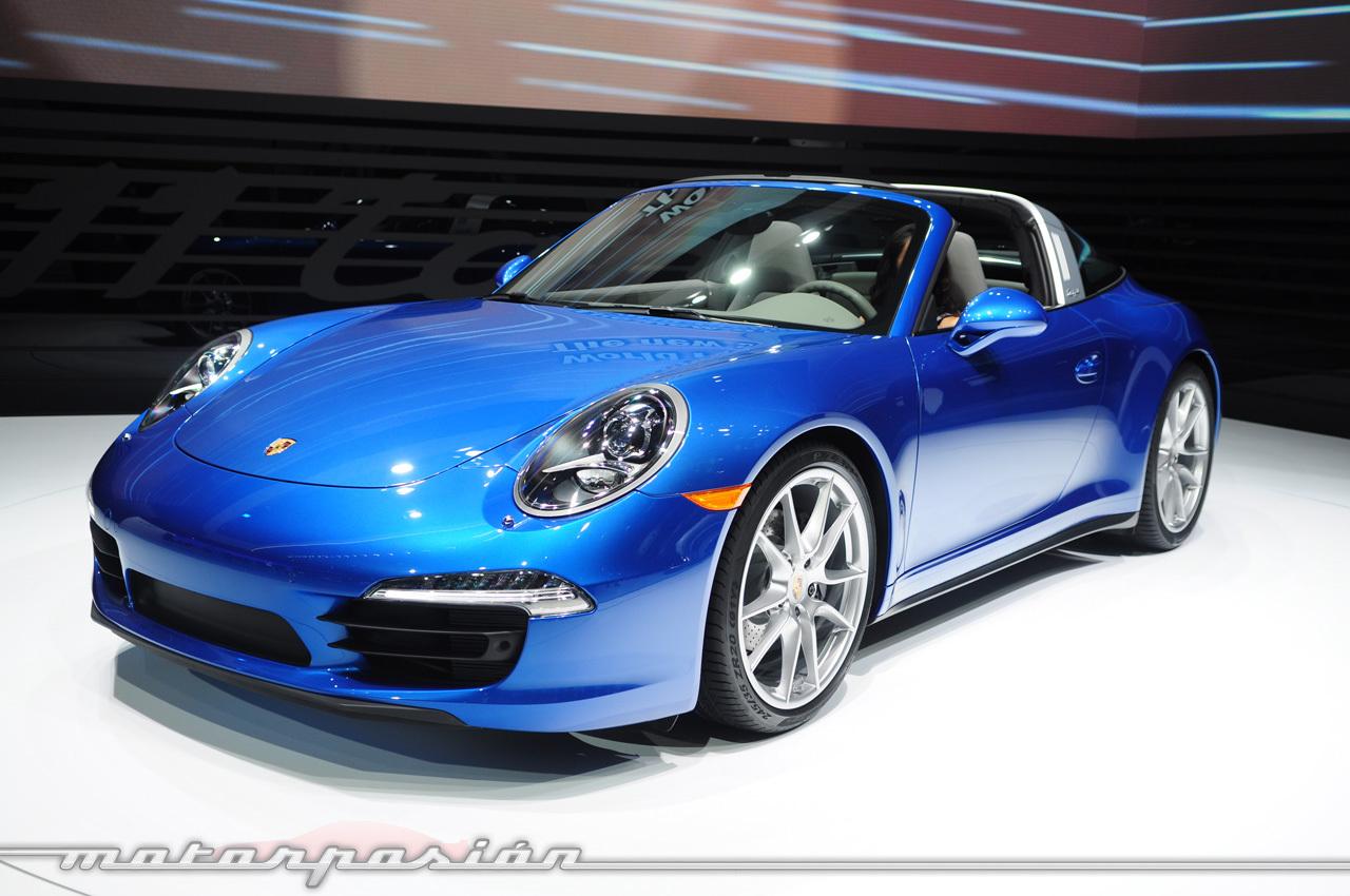 Porsche 911 Targa 991 (Salón de Detroit)