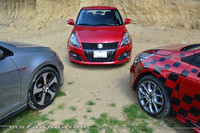 Comparativa: Suzuki Swift Sport vs Renault Clio RS vs Volkswagen Golf GTI (Parte 2)