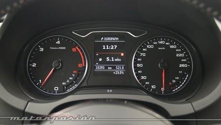 Cuadro de instrumentos de un Audi A3 TDI