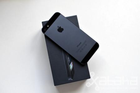 El iPhone 5 representa la mitad de las ventas de smartphones de Apple