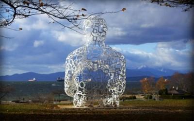 Type Face, impresionantes esculturas hechas con texto... ¡y no están en Comic Sans!