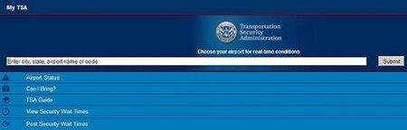 My TSA, información en tiempo real de los aeropuertos norteamericanos