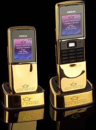 Tuneando el Nokia 8800 Sirocco Edition