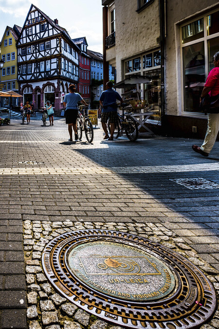 A Commomerative Plaque Marks The Spot In Wetzlar Where Oskar Barnack Tested His Ur Leica In This Modern View 2018
