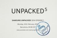 Samsung convoca su próximo Unpacked el 24 de febrero, Galaxy S5 a la vista