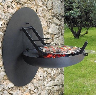 Barbacoa de pared