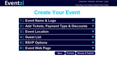 Eventzi, crea y difunde tus propios eventos en la web