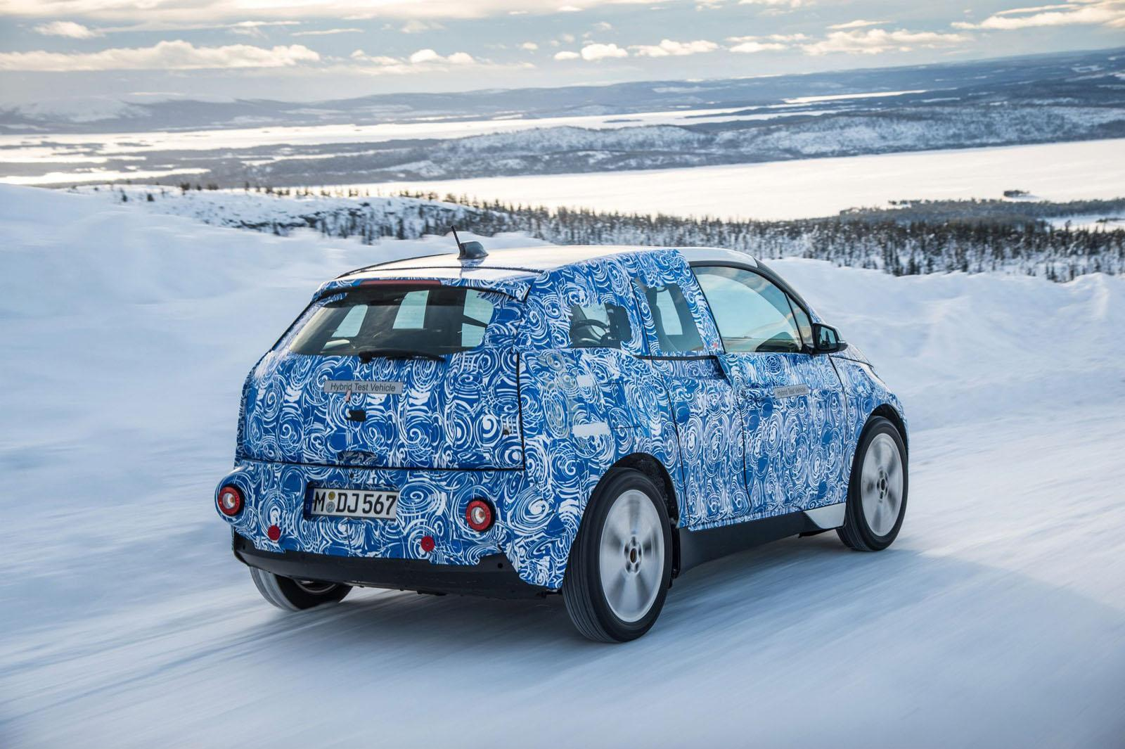 Foto de BMW i3, fotografías en el Círculo polar ártico (5/5)