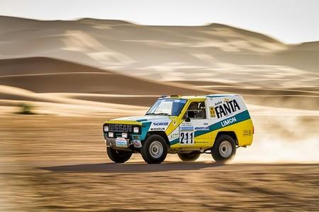 El Nissan Patrol 1987 desafiará los rigores del Rally París-Dakar treinta años después