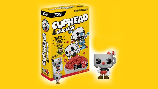 Funko lanza su propia marca de cereales inspirados en Cuphead y Mega Man ¡con muñeco incluido!