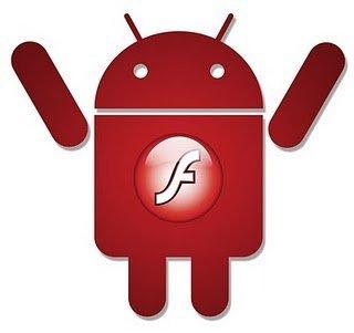 Flash llegará oficialmente a Android en la 2.2