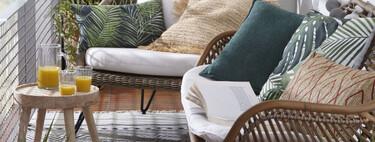 16 elementos para construir un rincón de lectura en la terraza o el balcón y crear un pequeño oasis en casa