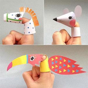 Marionetas de dedos gratis para imprimir