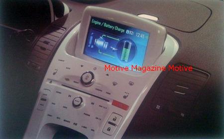 Un vistazo furtivo al interior del Chevrolet Volt