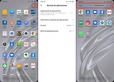 Cajon Apps Aplicaciones Xiaomi Miui 11