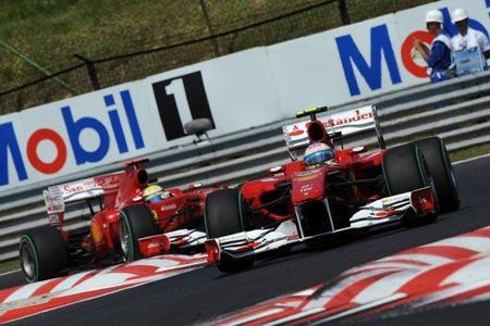 Ferrari presentará mejoras traseras para su F10 en Spa