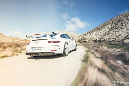Porsche 911 GT3 trasera dinámica