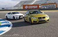 Lexus RC F contra BMW M4 Coupé, comparativa (parte 2)