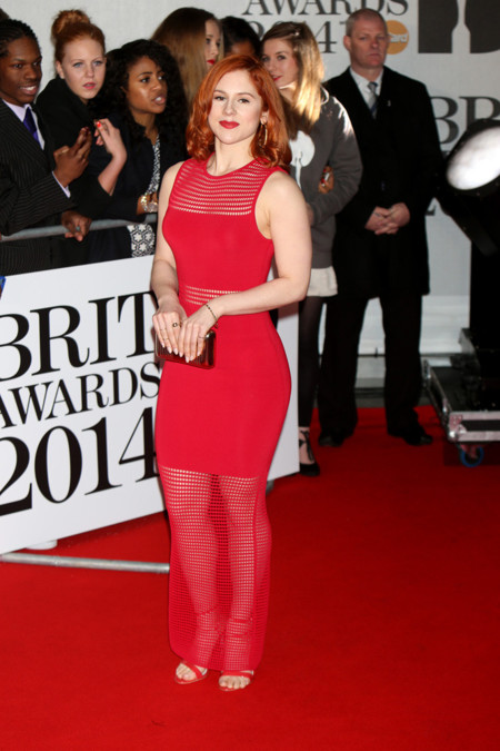 Katy B Brit Awards 2014