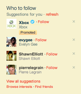 Las promoted accounts en twitter