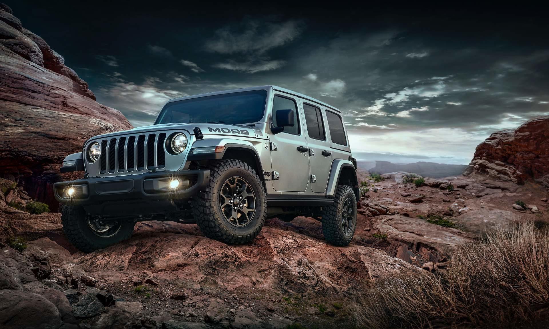 Jeep Wrangler Moab 2018