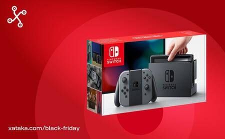 La Nintendo Switch por debajo de 300 euros en Amazon y Fnac: compra más barato en el Black Friday y regala en Navidad