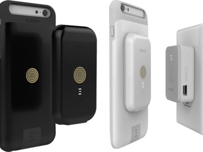 Stacked te permitirá acoplar al móvil baterías inalámbricas externas gracias a sus imanes