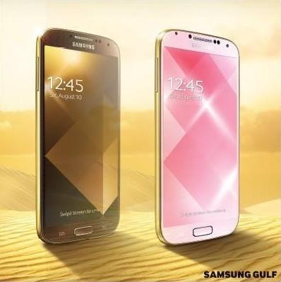 Samsung, también lanzará una versión gold del Galaxy S4