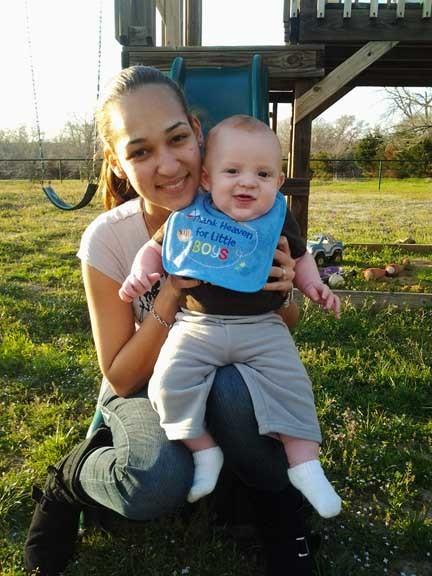 La foto de tu bebé: Francisco con mamá
