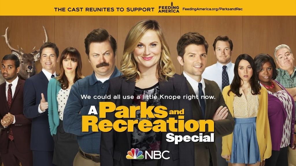 'Parks and Recreation' nos alegra el corazón con una divertida reunión para recaudar fondos en la lucha contra el coronavirus