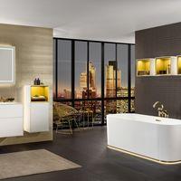Cargar el móvil en el baño, o funciones inteligentes de luz y sonido en la nueva colección de Villeroy & Boch