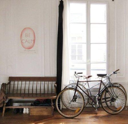 Ideas para poner la bicicleta en casa.