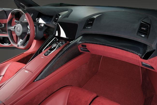 Interiores Honda NSX