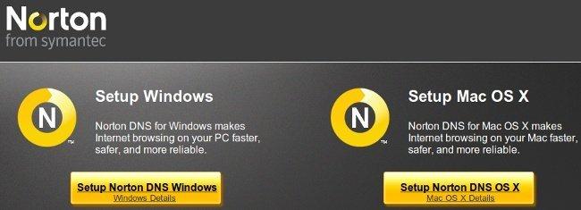 Norton DNS