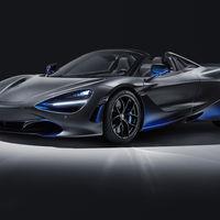 El McLaren 720S Spider by MSO hace un guiño al flujo aerodinámico del modelo con múltiples detalles azules