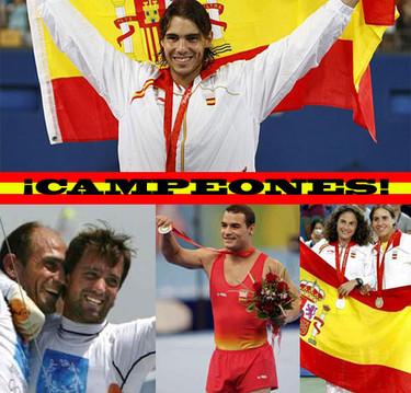 Domingo de Campeones Olímpicos