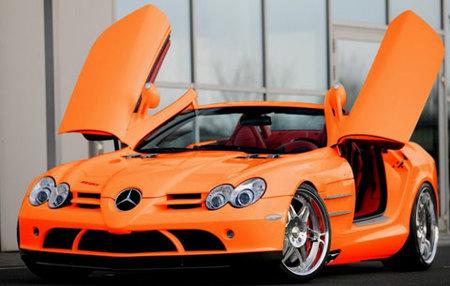 Brabus Mercedes-Benz SLR McLaren Roadster naranja