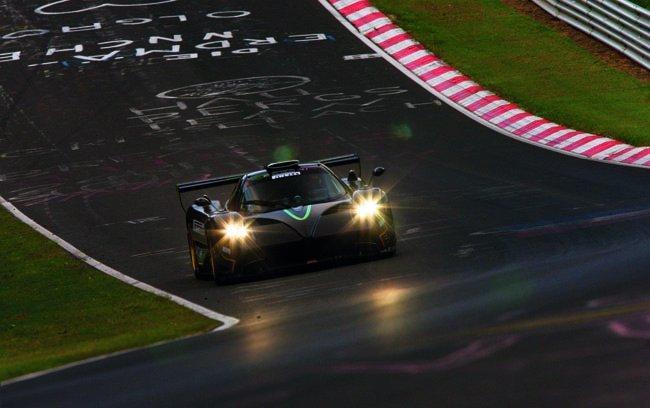 Pagani Zonda R Nürburgring