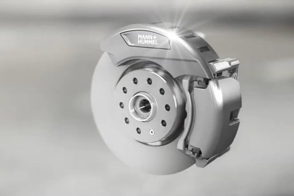 Los frenos de disco también contaminan, y por eso Mann+Hummel está trabajando en un filtro para contener sus partículas