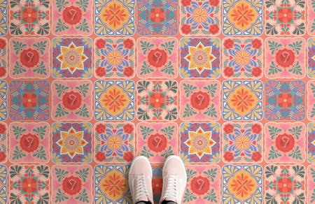 Puebla Landscape Shoe Shot